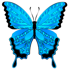blue butterfly clipart image gallery yopriceville high