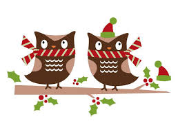 owl christmas christmas owls wall decal weedecor