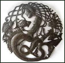 74 best metal mermaid wall art handcrafted from recycled steel