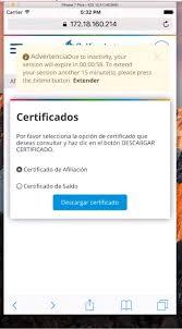 descargar el certificado de pensiones y cesantas ing manual de uso del portal tansaccional