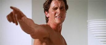 Christian Bale Axe Meme - the original axe body spray funny