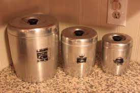 Retro Kitchen Canisters by 100 Orange Kitchen Canisters Canister Sets U0026 Jars Food