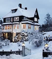 Winter Houses by Inspirerande Exempel På Svenska Hem U2013 Vintervackert Modernt