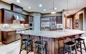 what color countertops go with brown cabinets beige granite countertops colors styles designing idea