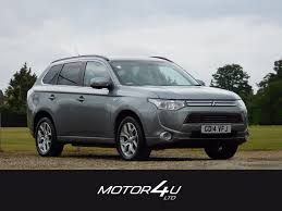 mitsubishi grey used mitsubishi outlander phev gx 4h mercury grey metallic black