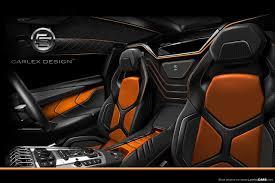 Lamborghini Murcielago Custom - carlex design interior for the aventador