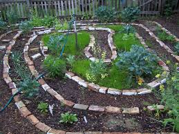 Permaculture Vegetable Garden Layout Earthflow Design Works Spiral Garden Bed Permaculture And Edible