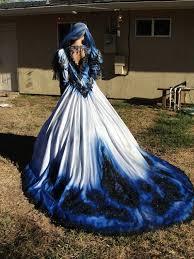 Blue Wedding Dress Camo Wedding Dresses For Military Wedding Wedding Sunny