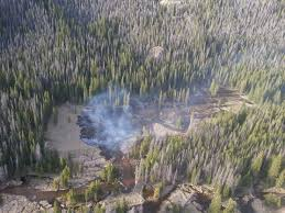 Rocky Mountain National Park Map Big Meadows Fire On West Side Of Rocky Mountain National Park