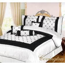 Scarface Bedroom Set Black And Off White Comforter Set Bed In A Bag U2013 King Size