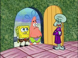 image spongebob patrick u0026 squidward jpg encyclopedia