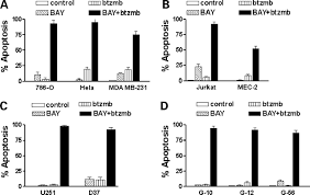 cytotoxic synergy between the multikinase inhibitor sorafenib and