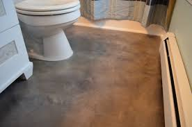 concrete flooring over existing porcelain tile concrete sink