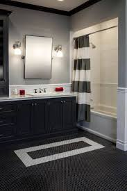 Dark Bathroom Ideas Stylish Black White Bathroom