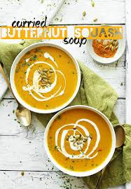 cuisine butternut curried butternut squash soup minimalist baker recipes