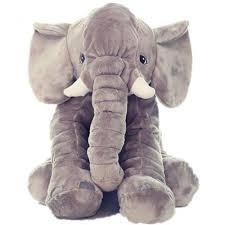 kiki monkey baby grey stuffed elephant plush pillows pre