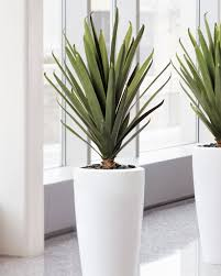 artificial plants lifelike carefree agave artificial plant for home and office at