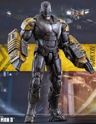 iron man mark xxv striker 1 6 scale figure iron man 3