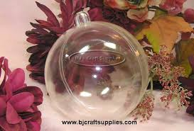 clear christmas ornaments fillable clear ornaments
