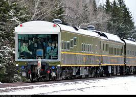 Minnesota travel by train images A full house in the theater car sandford fleming as a cn jpg