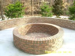 Brick Fire Pit Kit by Circular Brick Fire Pit U2013 Jackiewalker Me