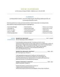 Professional Resume Samples by Free Resume Template Traditional Template Style With Bulleted