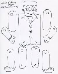 diy frankenstein paper doll source https docs google com