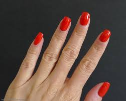 i relish nail polish revlon red by gucci westman