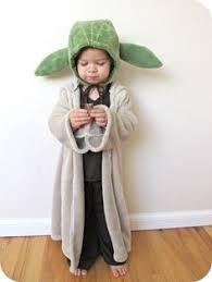 Kids Nerd Halloween Costume Geek Dress Kid Yoda Looked