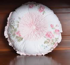 Target Simply Shabby Chic by New Rachel Ashwell Simply Shabby Chic Misty Rose Round Pillow