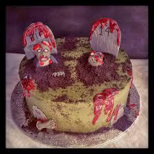 Halloween Graveyard Cake Ideas by Second Generation Cake Design October 2013