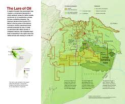 Chico State Map by Ecuadorean Amazon Under Oil Assault To Service Chinese Debt