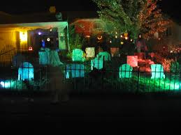 Halloween Yard Lighting