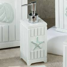 themed soap dispenser seashell bathroom accessories home design ideas and pictures