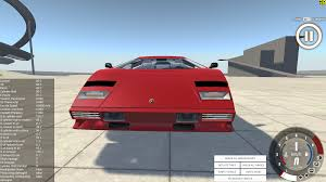 crashed lamborghini countach outdated lamborghini countach beamng