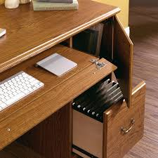 Orchard Hills Computer Desk With Hutch by Amazon Com Sauder Orchard Hills Computer Desk Carolina Oak