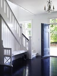 inspiration high gloss black floors apartment therapy