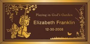 bronze cemetery markers plaques bronze cemetery markers franklin bronze plaques