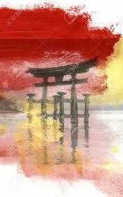 Peinture Cerisier Japonais by Peinture Japonaise Banque D U0027images Vecteurs Et Illustrations