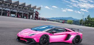 lamborghini side view png dub magazine pretty in pink liberty walk lamborghini aventador sv