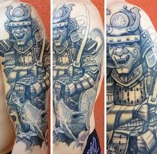 25 samurai dragon tattoos collection