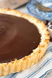 chocolate macaroon pie crazy for crust