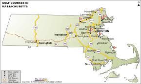 map of northton ma massachusetts golf courses golf courses in massachusetts map