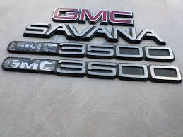 used gmc 3500 emblems for sale