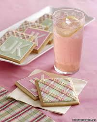 Pink Cocktails For Baby Shower - pink lemonade recipe martha stewart weddings