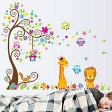 stickers animaux chambre bébé sticker enfant pas cher sticker chambre enfant discount ambiance