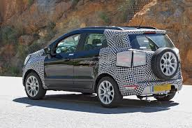 2017 ford ecosport facelift spied in europe borrows styling cues