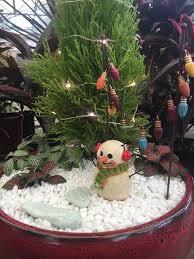 winter wonderland fairy garden workshop