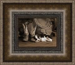 western framed prints