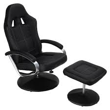 Office Chairs For Bad Backs Design Ideas Costway Executive Pu Leather Racing Style Bucket Seat Chair